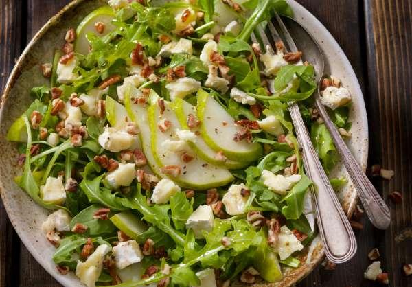 Salade printanière de farro à la pomme