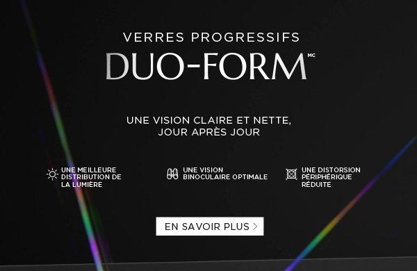 New DUO-FORM™ Progressive Lens