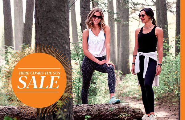 Prescription sunglasses sale – girl friends wearing sunglasses running in the woods - Visique