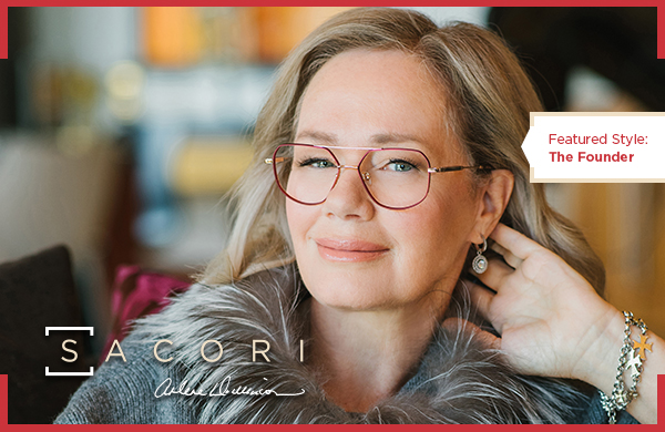 Sacori by Visique is a specially crafted line of eyewear created in collaboration with Arlene Dickinson.