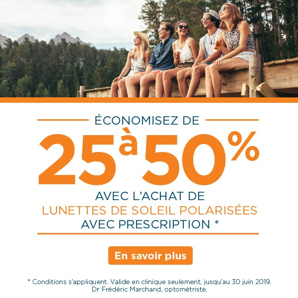 Prescription sunglasses sale – group of friends sitting on a dock laughing - Visique